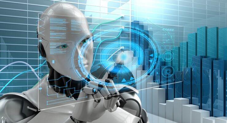 Artificial Intelligence Technology Futuristic 3262753 740x402 O presente e o futuro da inteligência artificial no marketing